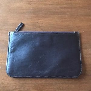 Vintage Gucci Clutch Wallet Brown